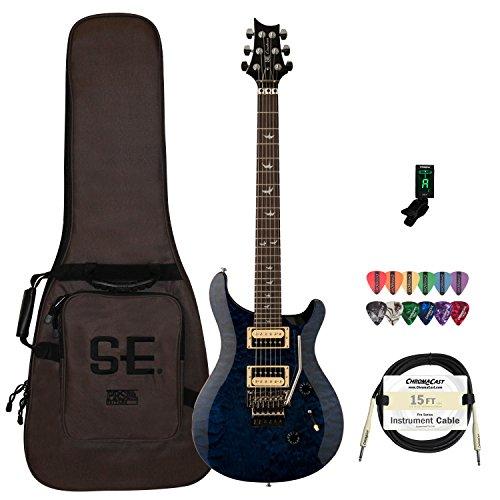 PRS CM4WBQFL30-KIT-3 30th Anniversary Floyd Custom 24 Electric Guitar, Whale Blue (Prs Custom compare prices)