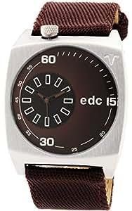 edc by Esprit Herren-Armbanduhr Analog Quarz Nylon EE100491002