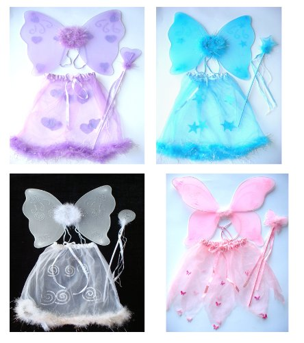 3 Pc Butterfly Costume