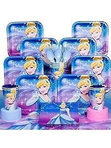 Amazon.com: Disney Cinderella Decoraciones Para Fiestas Infantiles De