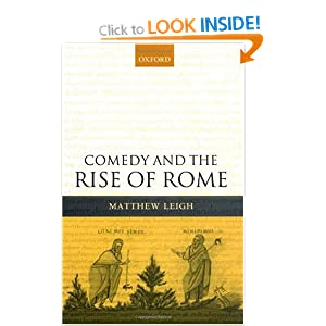Comedy and the Rise of Rome Matthew Leigh