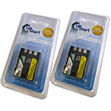 2x Pack - Canon E160814 Battery - Replacement For Canon NB-2LH Digital Camera Battery - Compatible With EOS Digital...