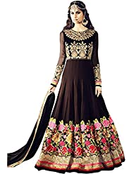 Pavan Fashion World Latest New Designer Flux Georgette Heavy Wedding Style Salwar Suit Sets