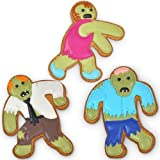 Undead Fred Zombie Shaped Cookie Cutters Novelty Kitchen Bakeware, Garden, Lawn, Maintenance
