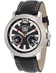 Stuhrling Original Men's 275.331513 Boardroom Saturnalia GTS Automatic Skeleton Black Watch