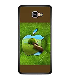 printtech Apple Green Leaf Back Case Cover for Samsung Galaxy A9 (2016)