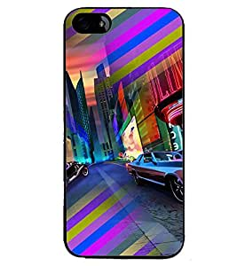 PRINTVISA Abstract Car Case Cover for Apple iPhone 5S