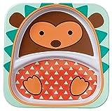 Skip Hop SKI-ZOO-PLATE-HEDGEHOG - Plato infantil, diseño de erizo