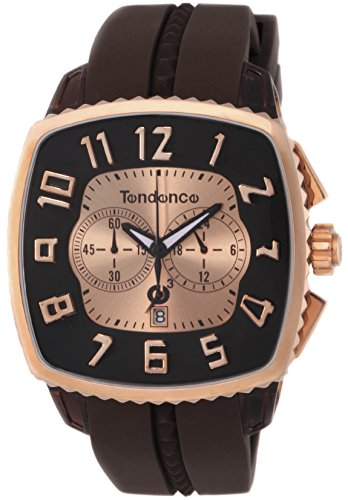 [テンデンス]Tendence 腕時計 Square Gulliver 文字盤 ステンレス/ポリカーボネイト クロノグラフ デイト 02086003  【並行輸入品】