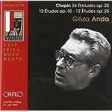 ゲザ・アンダ / ショパン・リサイタル (Chopin : Preludes Op.28, Etudes Opp.10 & 25 / Geza Anda) (2CD)