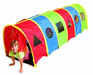 Amazon com: Pacific Play Tents Tickle Me 9' Geo D Tunnel