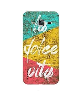 iSweven printed samj3_3163 lob dolee vitob Design Multicolored Matte finish Back case cover for Samsung Galaxy J3 (2016 Edition)