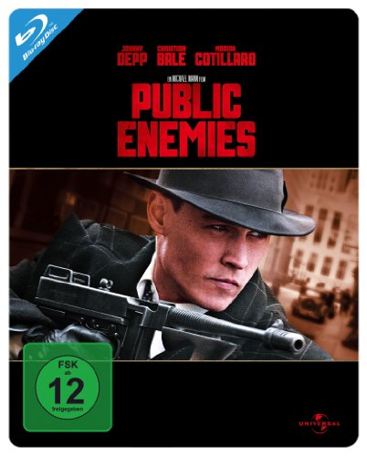 Public Enemies - Steelbook [Blu-ray]