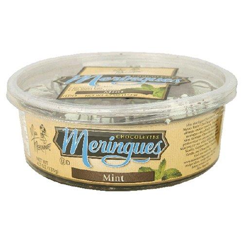 Miss Meringue Mint Chocolette Meringue Chocolettes, 4.7-Ounce Containers (Pack of 6)