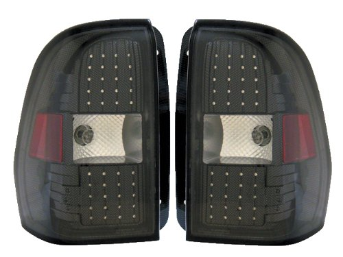 Chevy Trailblazer Replacement Tail Light Assembly (Led Carbon Fabric) - 1-Pair