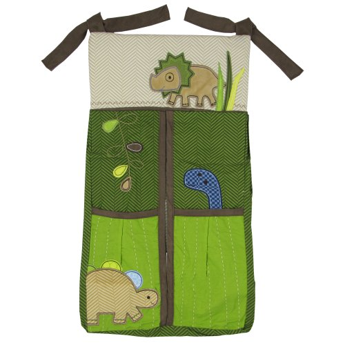 Jill McDonald Adorable Dino Diaper Stacker (Discontinued by Manufacturer)