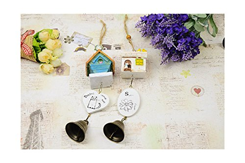 LingStar Bird house bell resin accessories with bell creative home furnishing (Jw Bell Housing compare prices)