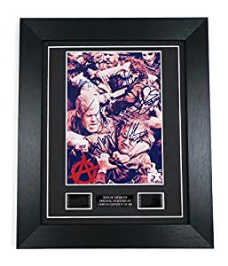 Sons of Anarchy Signed + Sons of Anarchy Film Cells Framed
