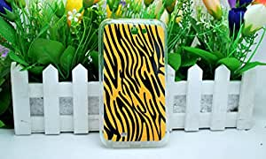 Imprue Brand New Yellow with Black Leopard Design Print Soft Silicon TPU Back Case Cover for Galaxy Grand Note 2