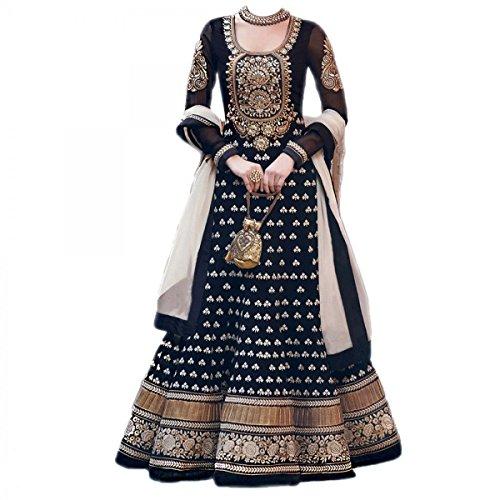 RT Fashion Anarkali Salwar Kameez Suit Indian Bollywood Designer Party Dress
