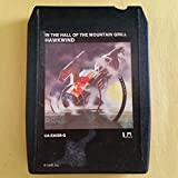 HAWKWIND In The Hall Of The Mountain Grill 8 Track Tape UA EA328 Lemmy Motorhead
