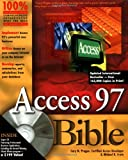 img - for Access 97 Bible book / textbook / text book