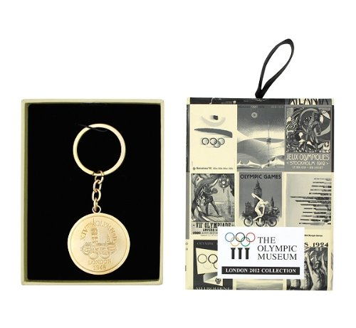 【ロンドン五輪2012公式商品】ロンドン 1948 オリンピック 金メダル キーリング (並行輸入品)