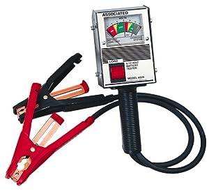 Associated Equipment 6029 6/12V 125 Amp Hand Held Analog Battery Tester