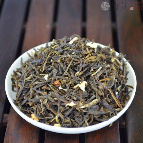 Kim Medall Organic Golden Time Jasmine Spring Buds Leaf Chinese Green Tea Fragrance