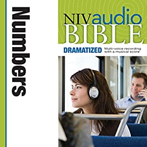 NIV Audio Bible: Numbers (Dramatized) Audiobook