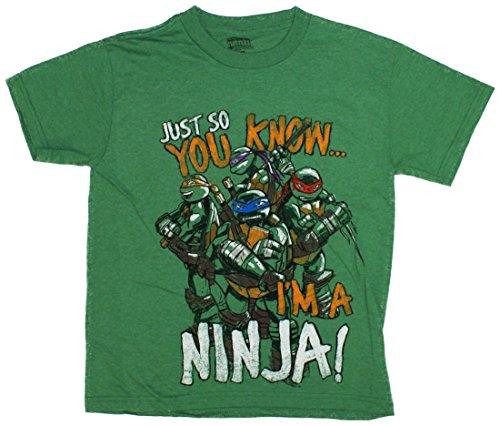 Teenage Mutant Ninja Turtles TMNT Just So You Know T-Shirt