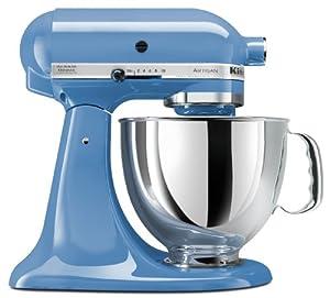 KitchenAid KSM150PSCO Artisan Series 5-Quart Stand Mixer, Cornflower Blue