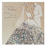 """Hallmark Hochzeit Karte """"unvergessliche Momente-quadratisch groß Unvergessliche Momente Unforgettable Moments"""