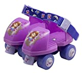 Disney Junior Sophia The First Roller Skate with Knee Pads, Size 6-9