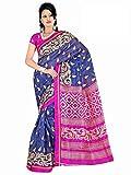 Winza Women's Cotton Saree(Exclusive ethnic desi bhagalpuri art silk cotton bolly fancy sarees for women 180_Multicolor)