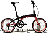 Dahon Vector P8 Red/Black Folding Bike Bicycle