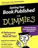 img - for Getting Your Book Published For Dummies [Paperback] [2000] (Author) Sarah Parsons Zackheim, Adrian Zackheim book / textbook / text book
