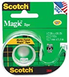 Scotch Magic(TM) Tape 104, 1/2-inch x 450 Inches