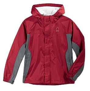 Sierra Designs Boys' Hurricane HP Jacket,Crimson,X-Small
