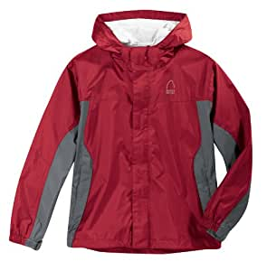Sierra Designs Boys' Hurricane HP Jacket,Crimson,Medium