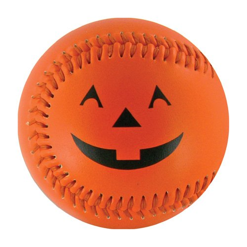 Halloween Pumpkin T-Ball (Rubber Core)