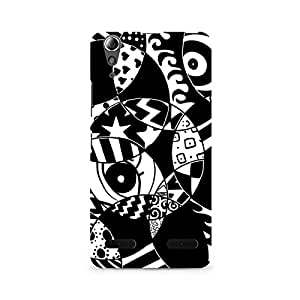 Mobicture Random Abstract Premium Printed Case For Lenovo A6000