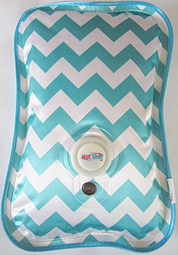 Rechargeable Portable Heat Pad/Pack (Teal Chevron)