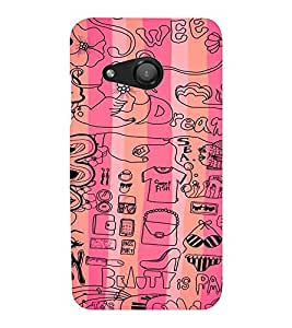EPICCASE Fashion Case Mobile Back Case Cover For Microsoft Lumia 550 (Designer Case)