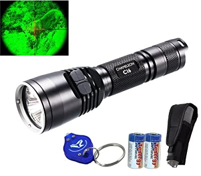 Bundle: Nitecore CI6 850nm 1500mw Long Range High Power LED Infrared IR Illuminator with 2x CR123A Batteries & Keychain Light