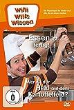 DVD Cover 'Willi will's wissen - Essen ist fertig! / Wer ist der Held auf dem Kartoffelfeld?