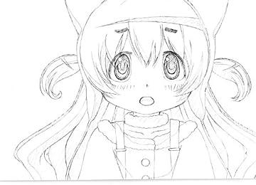 劇場版 魔法少女まどか☆マギカ 叛逆の物語 劇場入場者特典 ポストカード【なぎさ】
