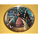 Collector Plate From Reco: CHRISTMAS EVE PARTY From the Limited Edition of THE NUTCRACKER BALLET SERIES