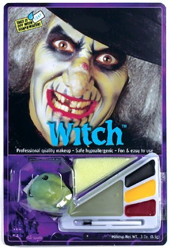 Witch Makeup Kit Halloween Costume Accessory - 1