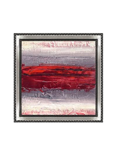 Lisa Carney Geo Horizon 16 Framed Giclée On Canvas